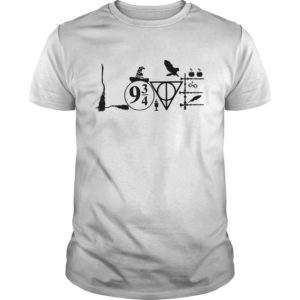 Magic wizard love harry potter guy shirt