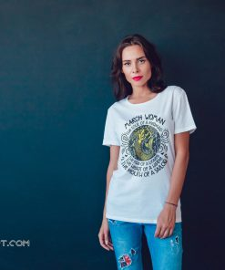 March girl the soul of a mermaid the fire of a lioness shirt
