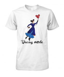 Mary Poppins vacay mode balloon mickey mouse unisex cotton tee