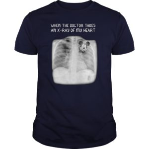 Mickey mouse when the doctor takes an x-rays of my heart guy shirt