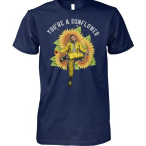 Post Malone you're a sunflower unisex cotton tee