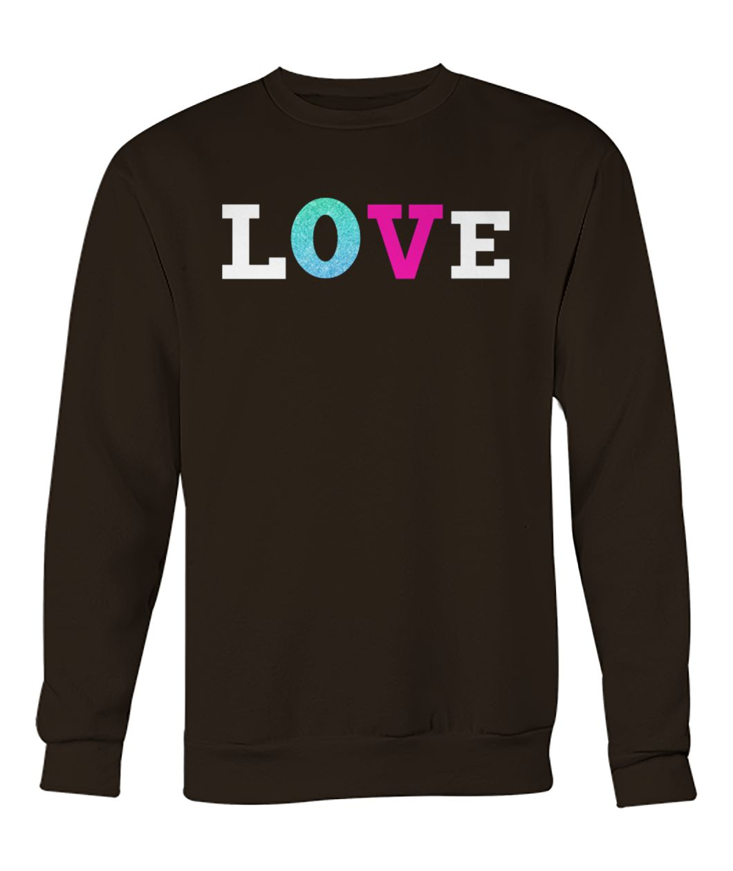 Savannah guthrie love crew neck sweatshirt
