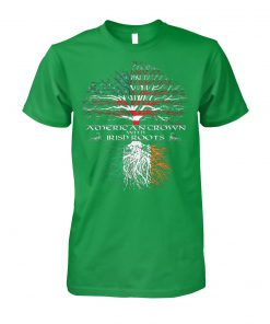 Shamrocks irish tree st patrick's day unisex cotton tee