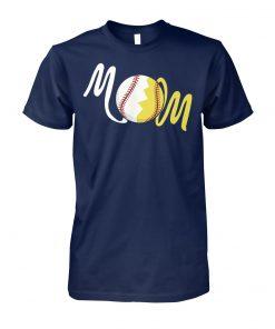 Softball mom unisex cotton tee