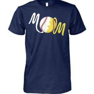 Softball mom unisex cotton tee