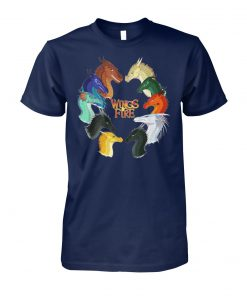 Wings of fire all dragon unisex cotton tee