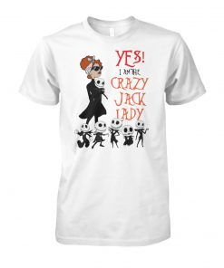 Yes I am the crazy jack lady unisex cotton tee