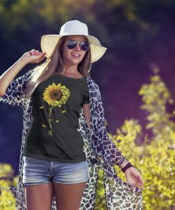 You are my sunshine skull sunflower shirt