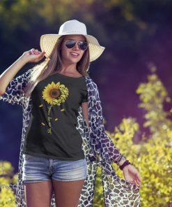 You are my sunshine skull sunflower shirt