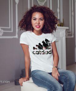 Adidas flower catdad shirt