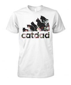 Adidas flower catdad unisex cotton tee