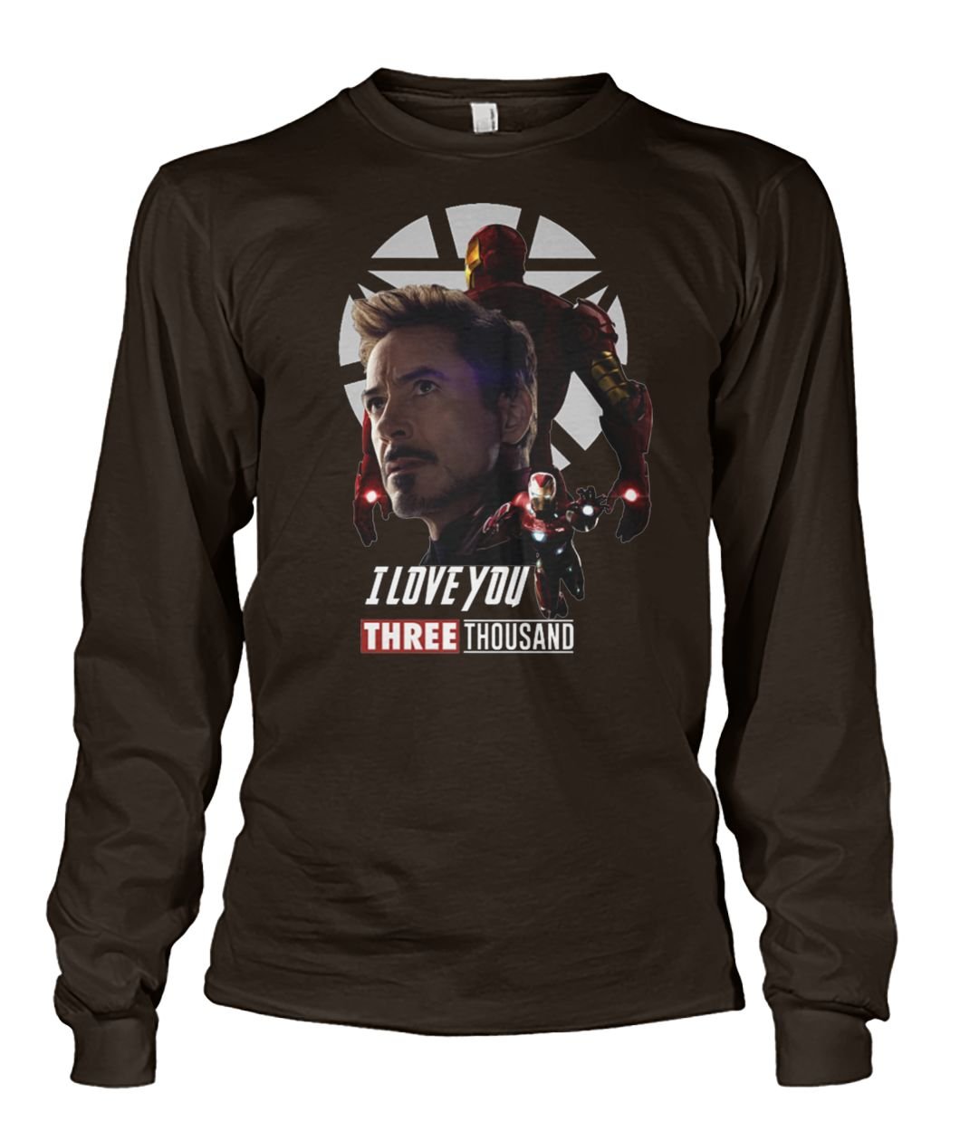 Avenger endgame iron man I love you three thousand unisex long sleeve