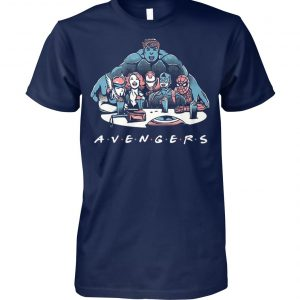 Avengers end game avengers friends unisex cotton tee