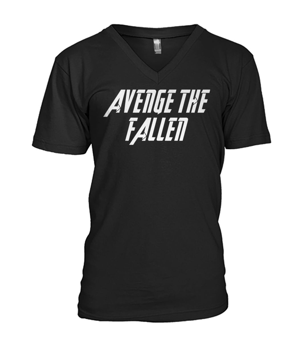 Avengers endgame avenge the fallen mens v-neck