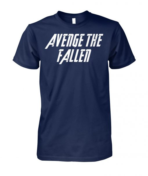 Avengers endgame avenge the fallen unisex cotton tee