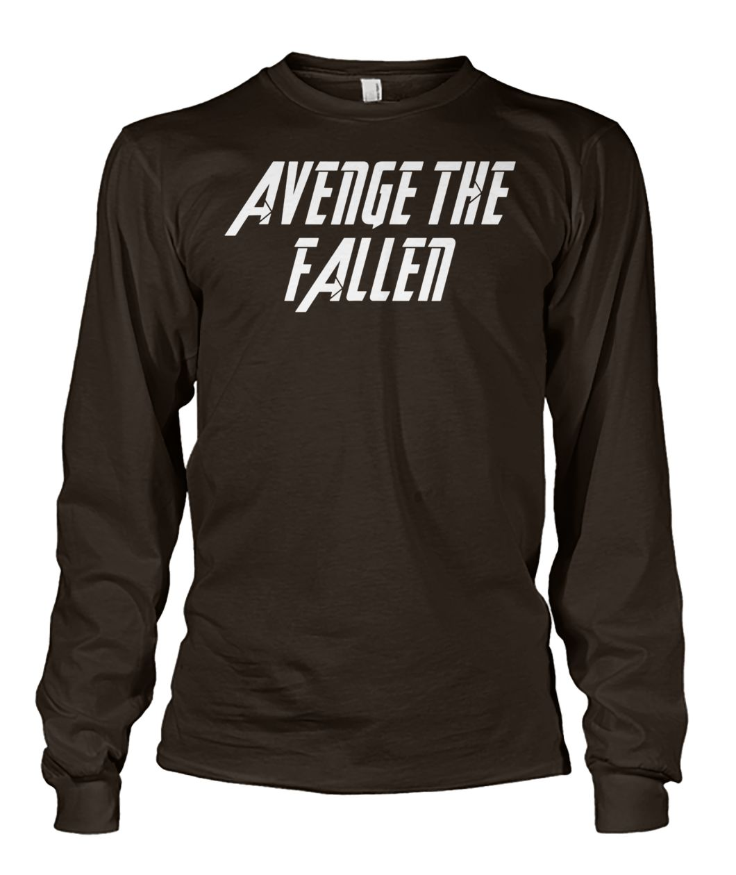 Avengers endgame avenge the fallen unisex long sleeve