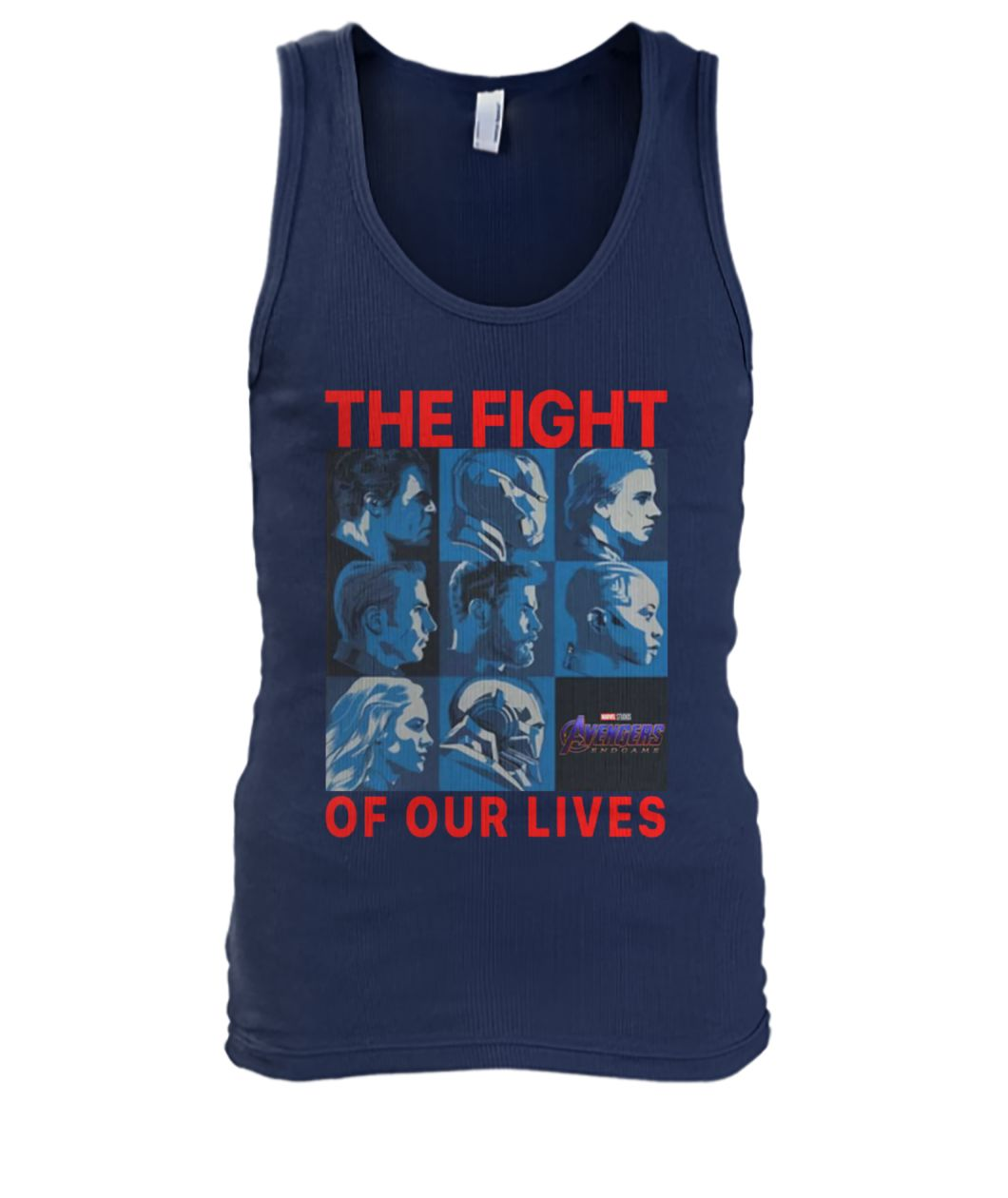 Avengers endgame the fight for our lives men's tank top