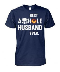 Black hole best asshole husband ever black hole 2019 unisex cotton tee