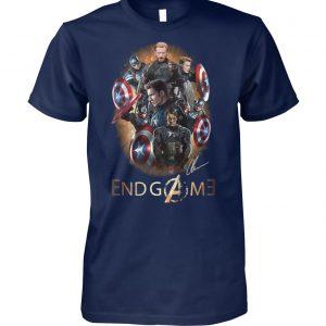 Captain america the first avenger endgame unisex cotton tee