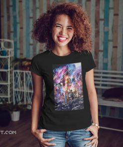 Captain marvel avengers endgame signature shirt