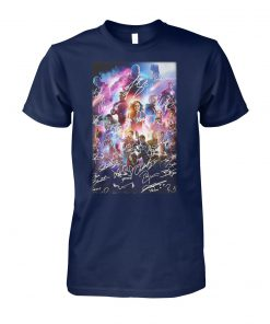Captain marvel avengers endgame signature unisex cotton tee