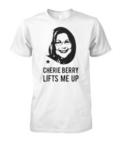 Cherie berry lifts me up unisex cotton tee