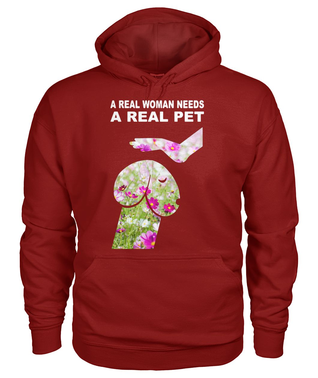 Cosmos seeds dickhead dog noma bar a real woman needs a real pet gildan hoodie
