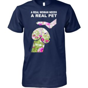 Cosmos seeds dickhead dog noma bar a real woman needs a real pet unisex cotton tee