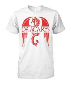 Dragon dracarys game of thrones unisex cotton tee