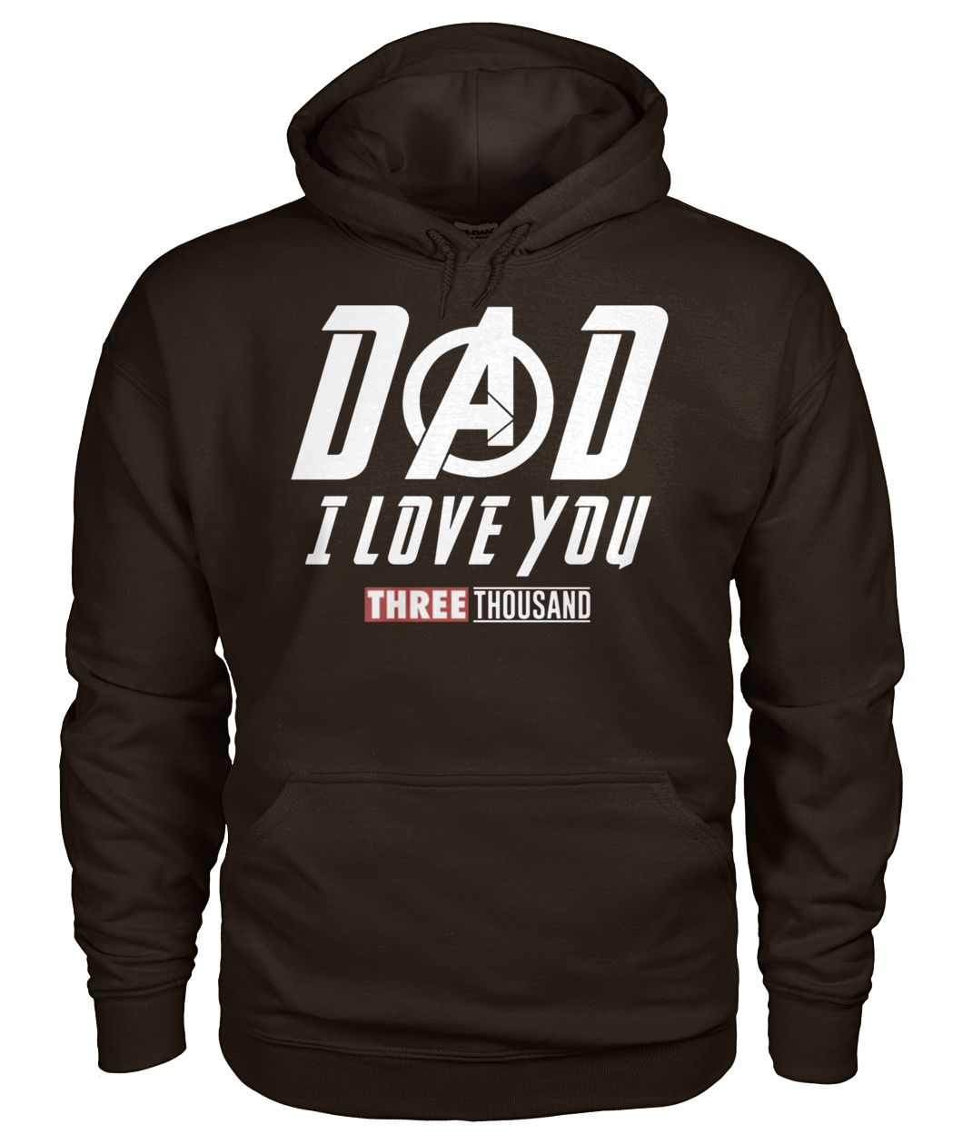 Endgame dad I love you three thousand gildan hoodie