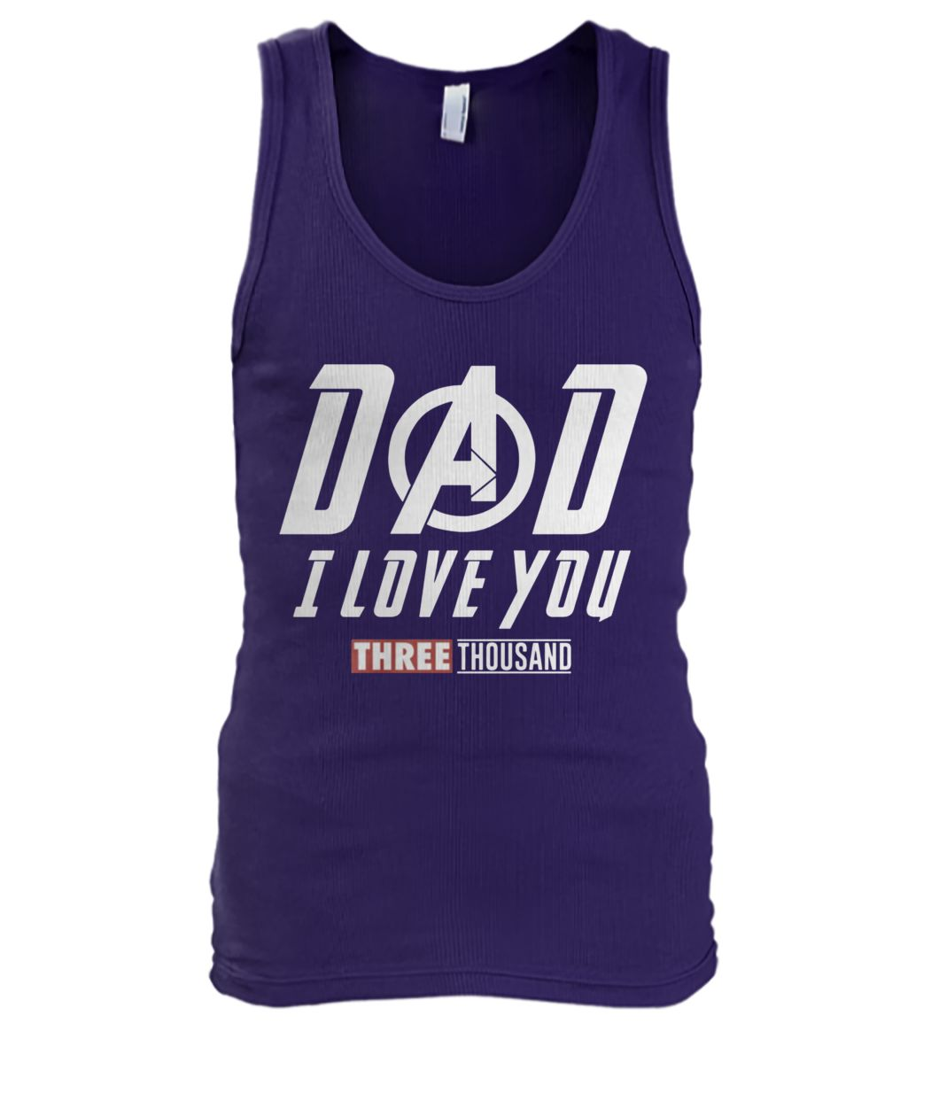 Endgame dad I love you three thousand men's tank top