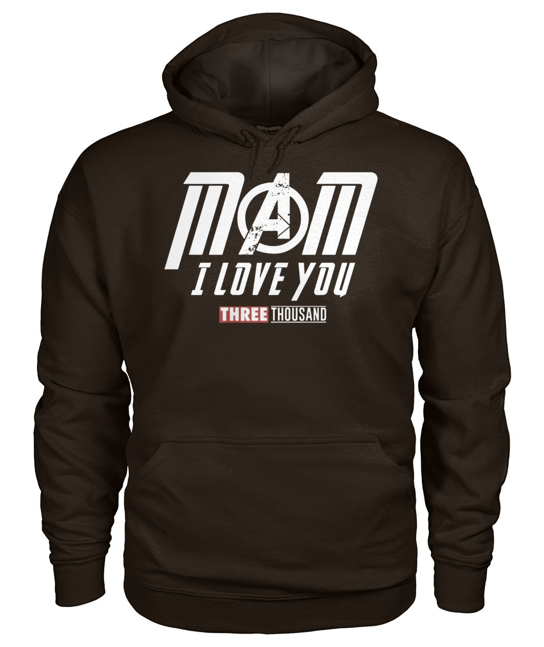 Endgame mom I love you three thousand gildan hoodie