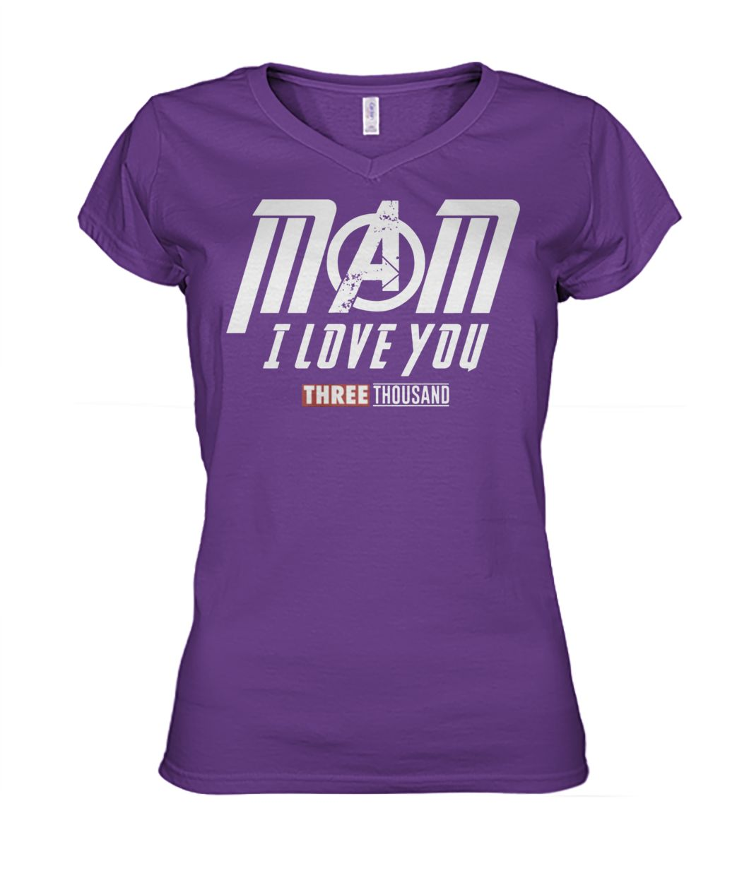 Endgame mom I love you three thousand women's v-neck