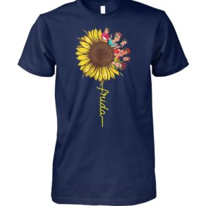 Frida kahlo sunflower unisex cotton tee
