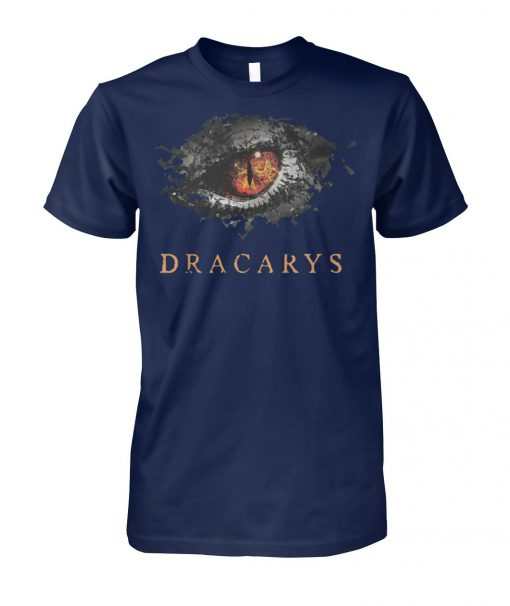 Game of thrones mother of dragons dracarys eye unisex cotton tee
