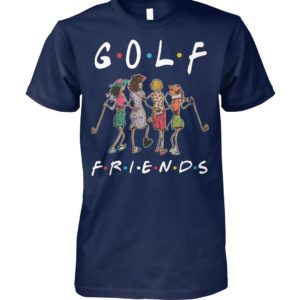 Golf friends tv show unisex cotton tee