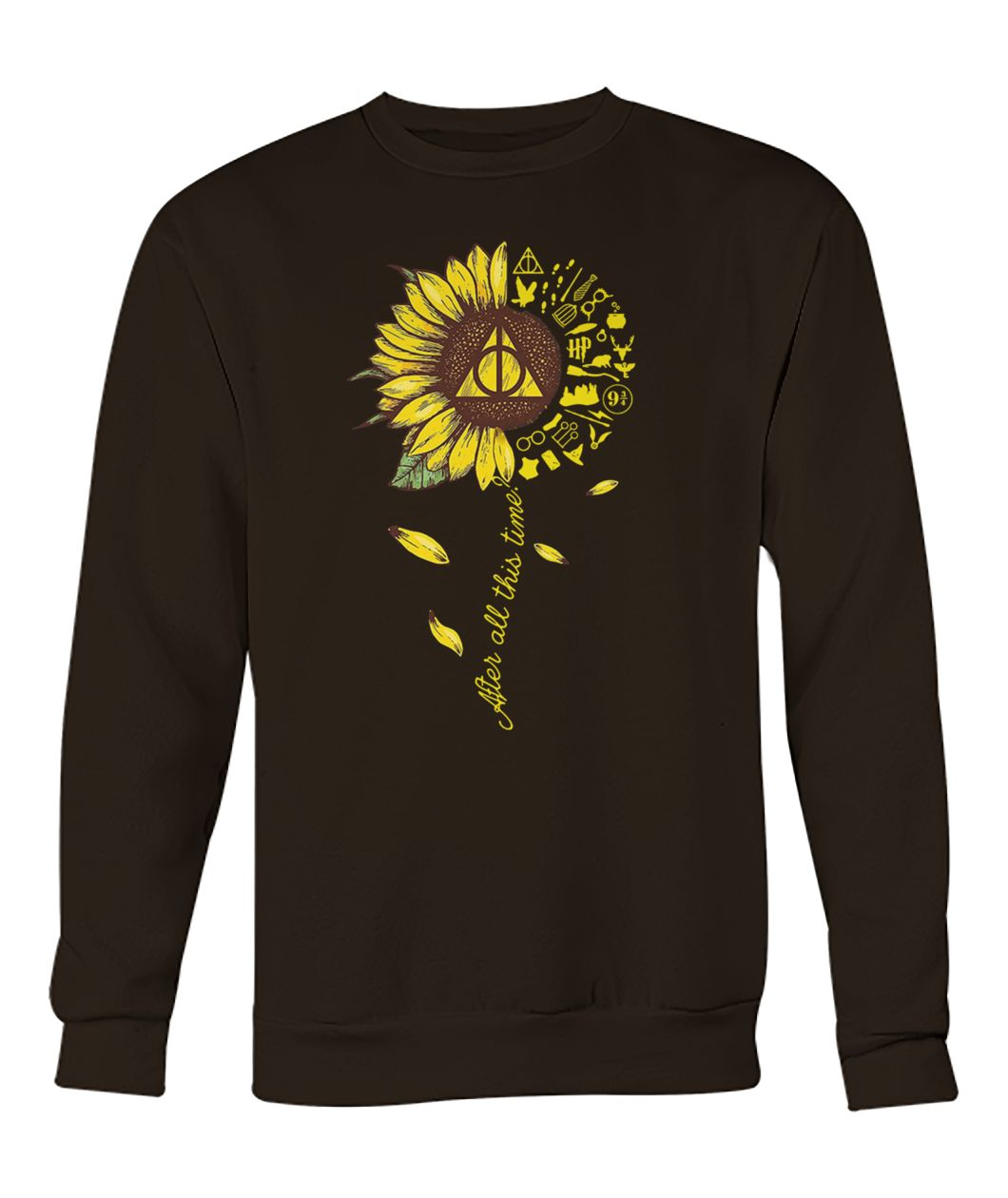 Harry potter after all this time sunflower crew neck sweatshirt