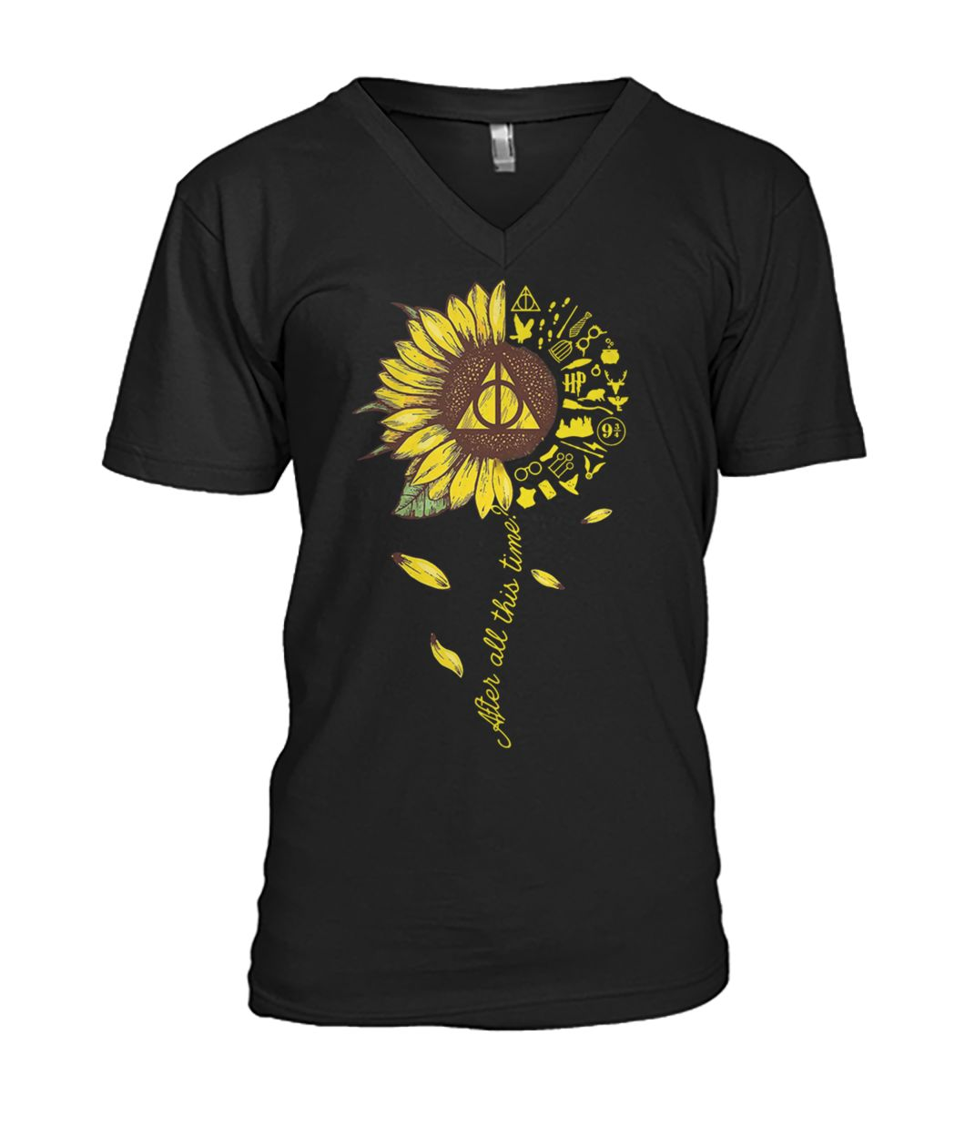 Harry potter after all this time sunflower mens v-neck