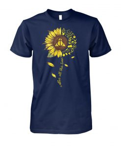 Harry potter after all this time sunflower unisex cotton tee