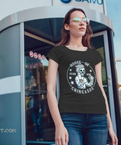 House of desde chingasos 2019 funny boxing tattoo shirt
