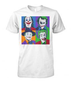 Joker pop art unisex cotton tee
