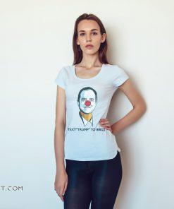 Little pencil-neck adam schiff text trump to 88022 shirt