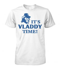 MLB toronto blue jays it's vladdy time unisex cotton tee