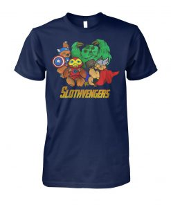 Marvel avengers endgame slothvengers unisex cotton tee