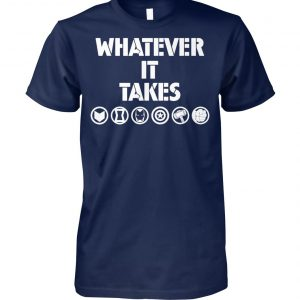 Marvel avengers endgame whatever it takes unisex cotton tee