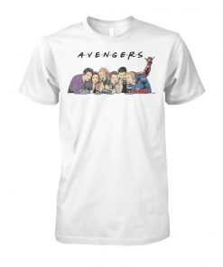 Marvel avengers friends unisex cotton tee
