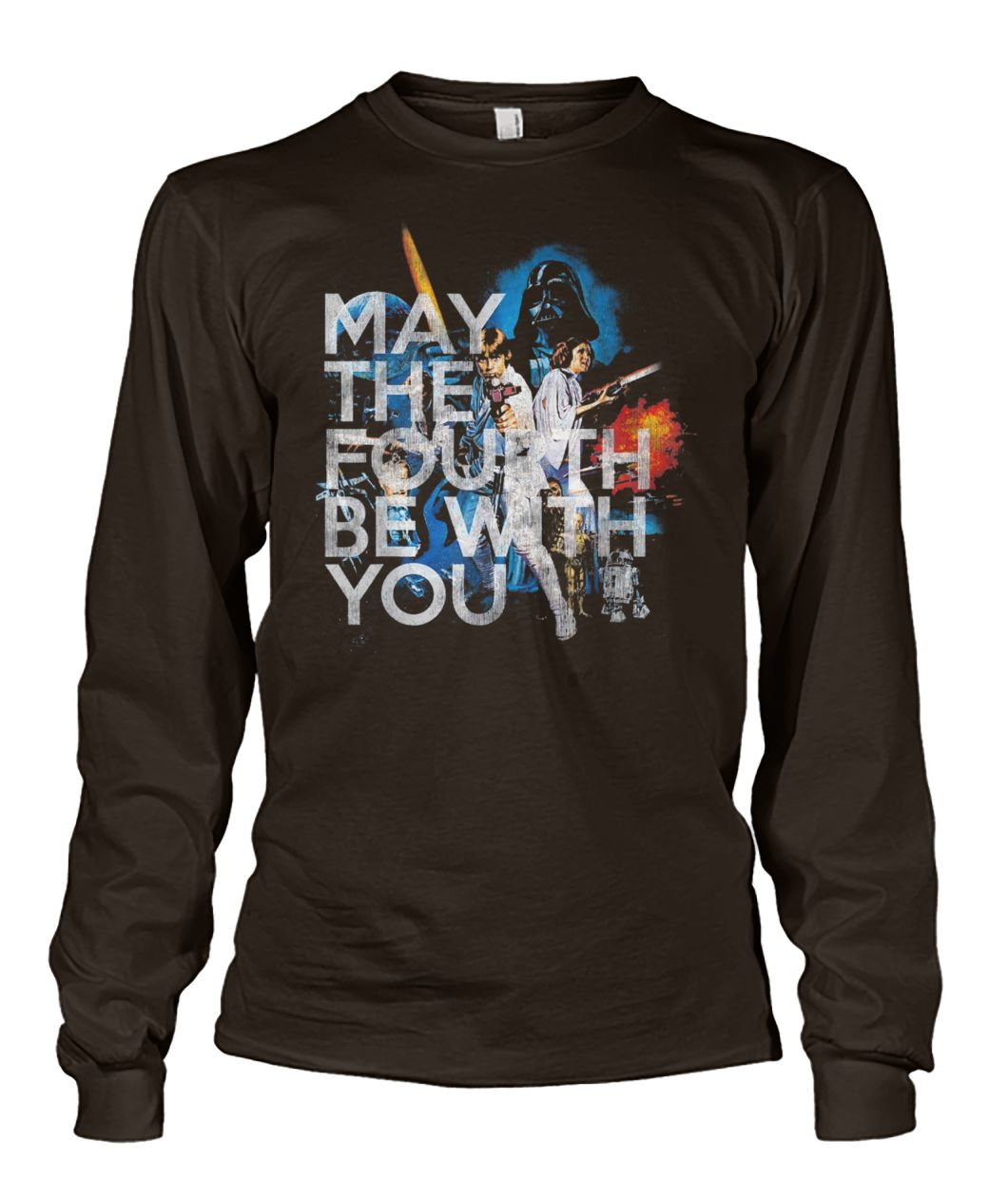 May the fourth be with you star wars day unisex long sleeve