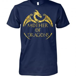Mother of dragons game of thrones unisex cotton tee