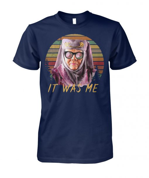 Olenna tyrell tell cersei it was me game of thrones unisex cotton tee