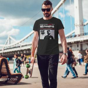 RIP NIP Nipsey Hussle having strong enemies is a blessing 1985 2019 shirt